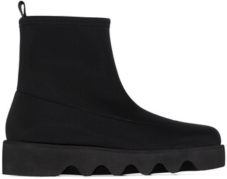 Issey Miyake Bounce ankle boots