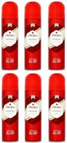 Old Spice 6x ORIGINAL Deodorant Mens Body Spray by