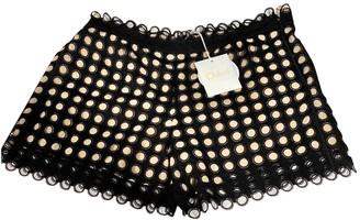Chloé Black Cotton Shorts