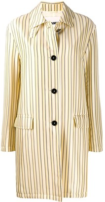 Jil Sander Striped Oversized Coat