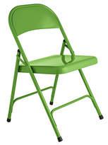 Habitat Macadam Metal Folding Chair - Green