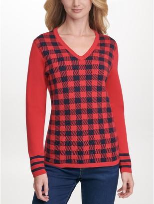 Tommy Hilfiger Essential Plaid Sweater