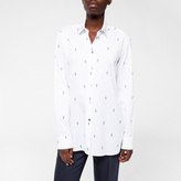 Paul Smith Women's White 'Gufram Cactus' Cotton-Twill Shirt
