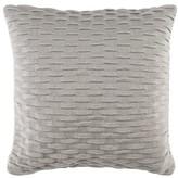 Noela Knit Cotton Throw Pillow Charlton Home