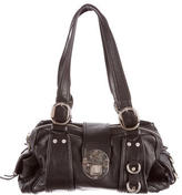 Etro Leather Logo Shoulder Bag