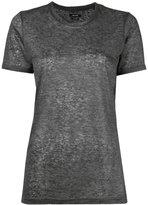 Isabel Marant Madjo T-shirt - women - Linen/Flax - L