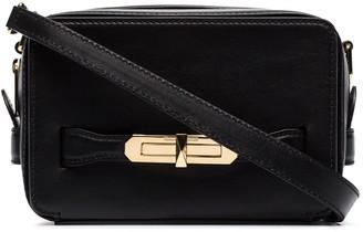 Alexander McQueen lock camera bag