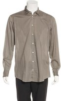 Massimo Alba Woven Button-Up Shirt