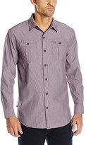 Geoffrey Beene Men's Pinstripe Woven Shirt