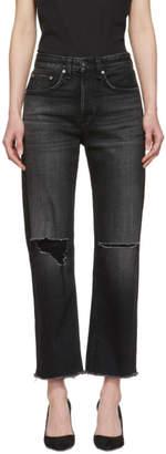 Rag & Bone Black Maya High-Rise Jeans