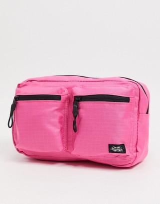 Dickies Fort Spring utility bumbag in pink
