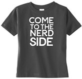 Charcoal & White 'Nerd Side' Tee - Toddler & Boys