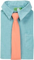 Future Trillionaire Sriped Long Sleeve Shirt & Solid Tie (Toddler, Little Boys, & Big Boys)