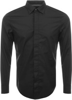Diesel S Nap Slim Shirt Black