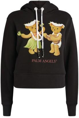 Palm Angels Dancing Bears Graphic Hoodie