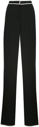 Proenza Schouler White Label Contrast Trim Tailored Trousers