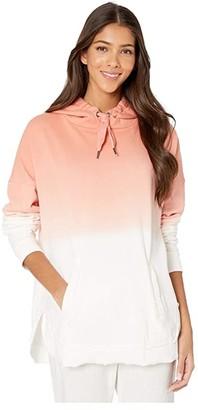 Roxy Time Has Come Hooded Sweatshirt (Terra Cotta) Women's Clothing