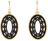 Armenta Crivelli Oval Diamond Drop Earrings