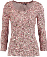 Cosabella Leopard-print stretch-jersey pajama top