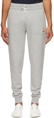 MAISON KITSUNÉ Grey Lotus Fox Jog Lounge Pants