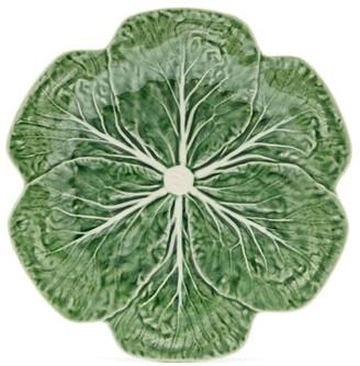 Bordallo Pinheiro - Cabbage Earthenware Dinner Plate - Green