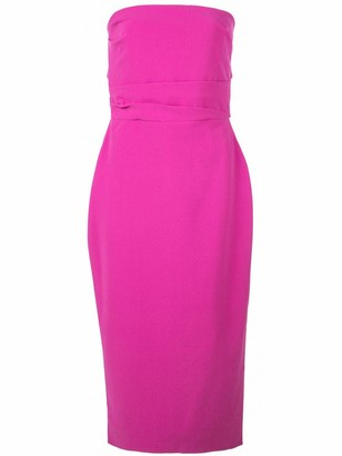 Alex Perry fitted Dylan midi dress