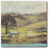 Asstd National Brand Pastoral Mist I Canvas Wall Art