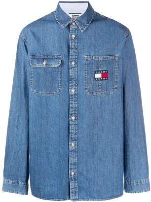 Tommy Jeans Comfort-fit denim shirt