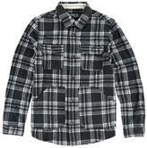 O'Neill 'Glacier' Check Long Sleeve Fleece Shirt (Big Boys)