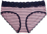 Jessica Simpson Maternity Lace-Trim Hipster Briefs