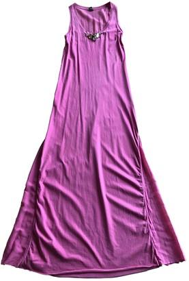 Jijil Pink Cotton Dress for Women
