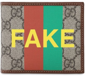 Gucci Gg Supreme Fake Not Billfold Wallet
