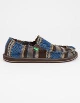 Sanuk Yew-Knit Mens Slip-On Shoes