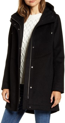 Pendleton Darby Metro Waterproof Wool Blend Coat