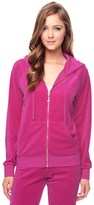 Juicy Couture J Bling Relaxed Velour Jacket