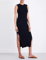 Frame Sleeveless ribbed dress