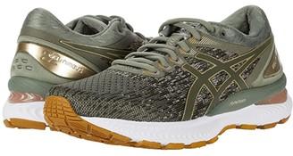 Asics GEL-Nimbus(r) 22 (White/Black) Women's Running Shoes