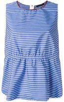 Odeeh striped top - women - Cotton - 38