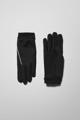 Weekday San Gloves - Black