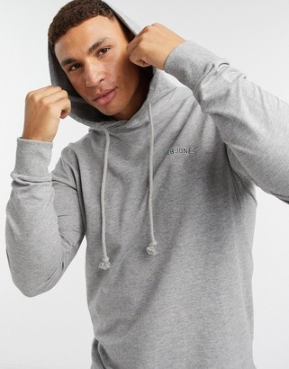 Jack and Jones Originals mix and match script logo hoodie