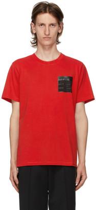 Maison Margiela Red Stereotype T-Shirt