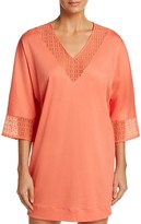 Hanro Mathilde Three-Quarter Sleeve Sleepshirt