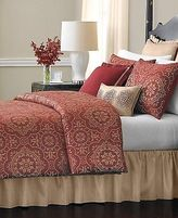 Martha Stewart $400 Bristol 24 Piece Comforter Bed In A Bag Set Queen