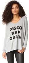 Wildfox Couture Disco Nap Queen Long Sleeve Tee