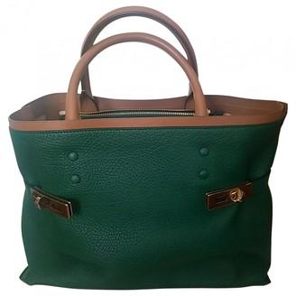 Chloé Charlotte Green Leather Handbags