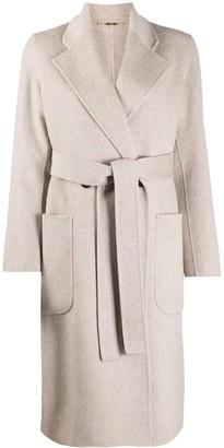Seventy Belted Longline Coat