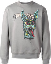McQ by Alexander McQueen rabbit print sweatshirt - men - Cotton - S