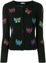 Jeremy Scott butterfly intarsia cardigan