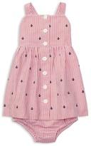 Ralph Lauren Girls' Seersucker Dress & Bloomers Set - Baby