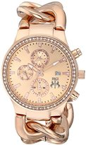 Jivago Women's JV1227 Lev Analog Display Swiss Quartz Rose Gold Watch
